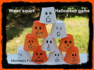 Halloween games for kids - stack and count game