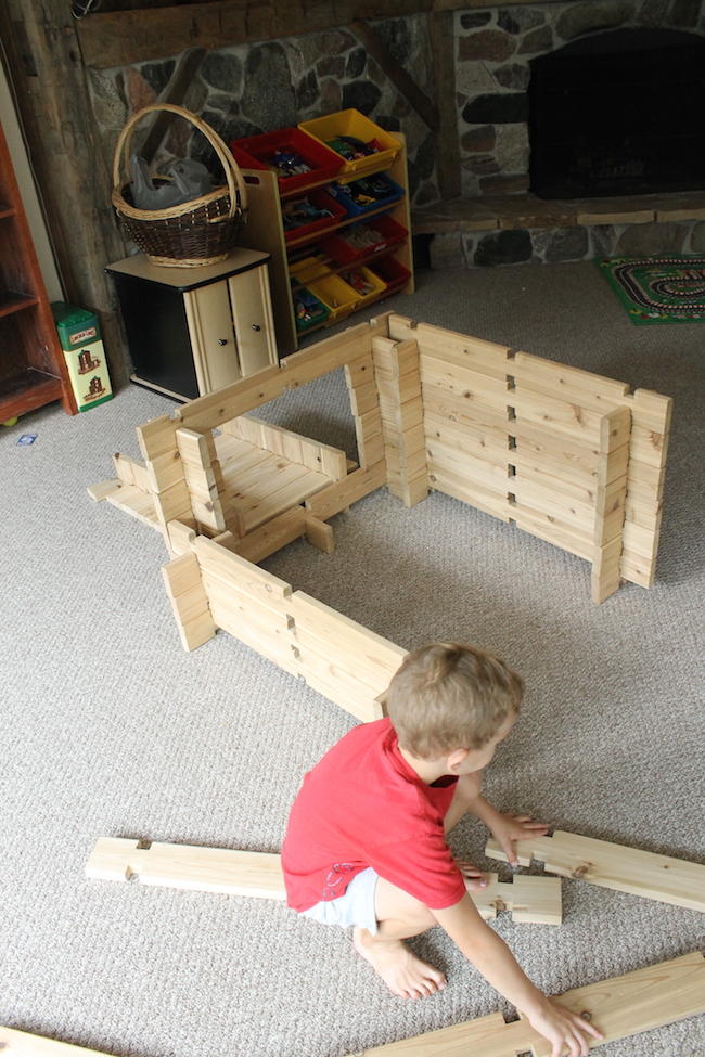 Large Construction Toys For Boys : Diy wooden building blocks how wee learn