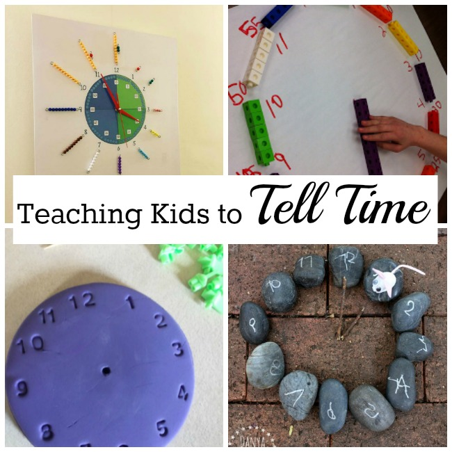 Great ideas for teachingkids to tell time!