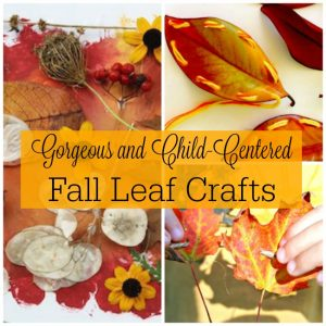 Gorgeous Fall Leaves Crafts