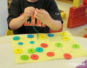 fine-motor-activities-sewing-buttons