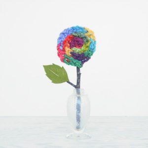 knitting-for-kids-finger-knit-flower