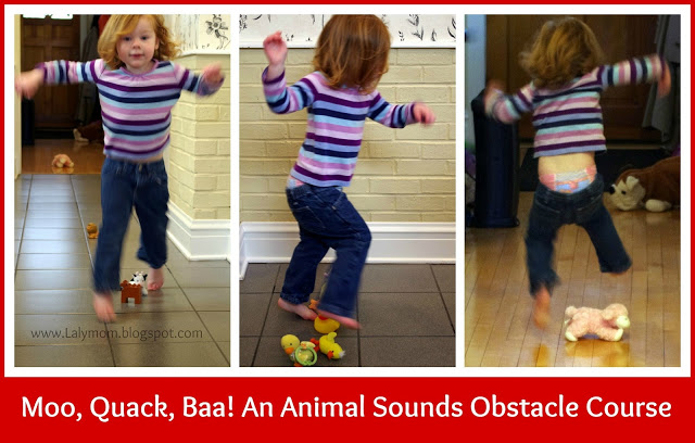 Great obstacle courses for toddlers