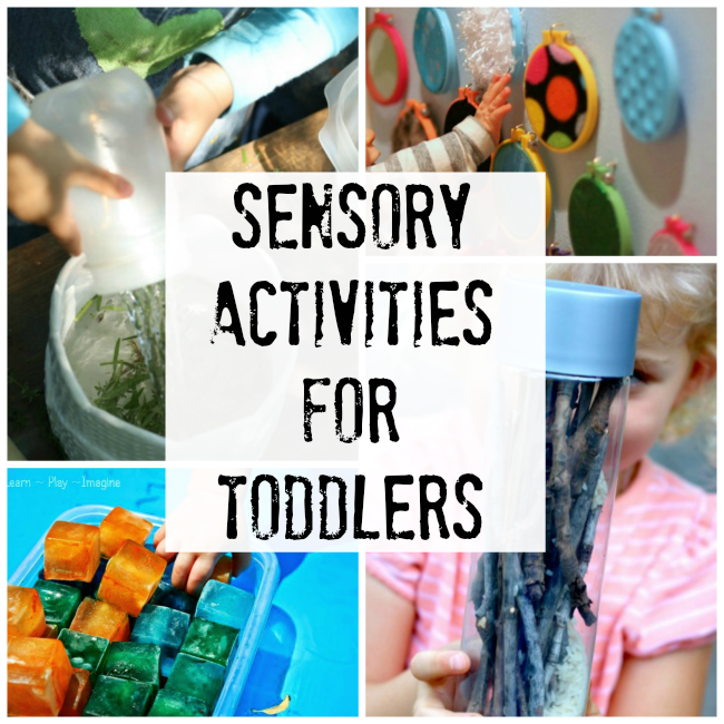 Sensory Activities for Toddlers - How Wee Learn