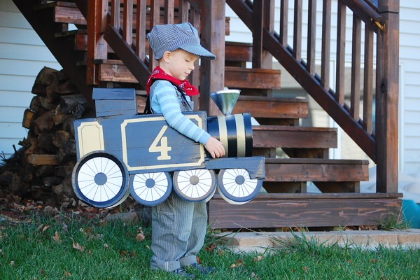 toddler halloween costumes train