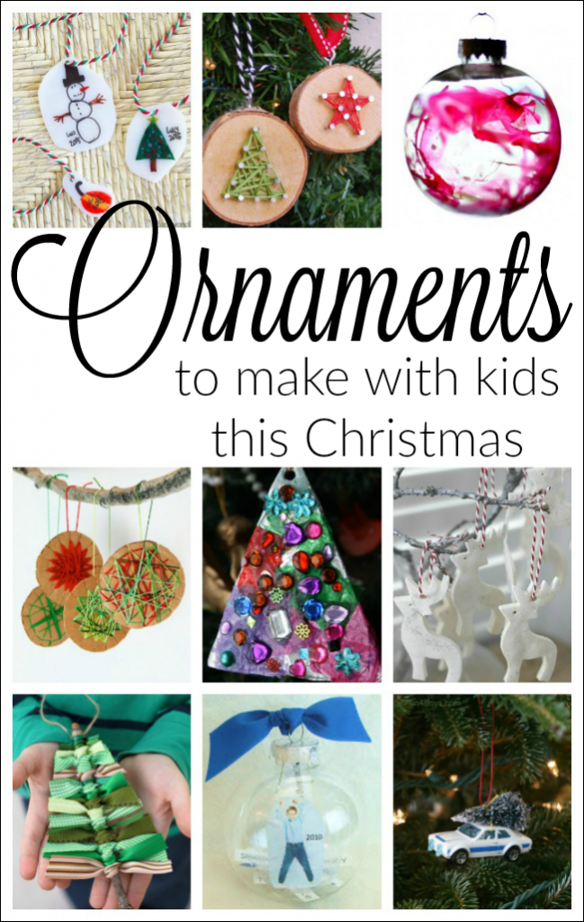 The most beautiful Christmas ornaments for preschoolers to make