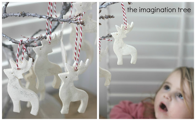 Christmas Ornaments To Make With Kids White Clay