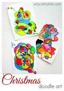 christmas-art-for-kids-doodle-art