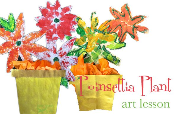christmas-art-for-kids-poinsettias