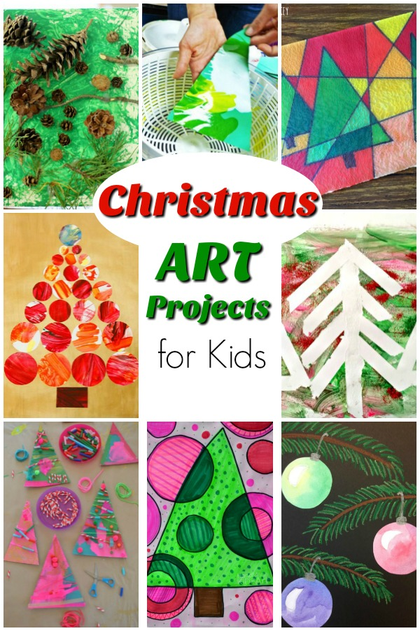 What do you think? Did you find a few Christmas art activities that will work for you and yours? I hope so! I find planning an art activity or two makes sure I am taking some time to slow down and really enjoy this season with my little ones.