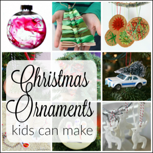 These are the cutest Chrismtas ornaments to make with kids! Such great Christmas craft ideas for preschoolers and toddlers - and big kids too!
