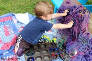 finger-painting-ideas-mirrors