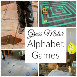 Gross Motor Alphabet Games for Kids