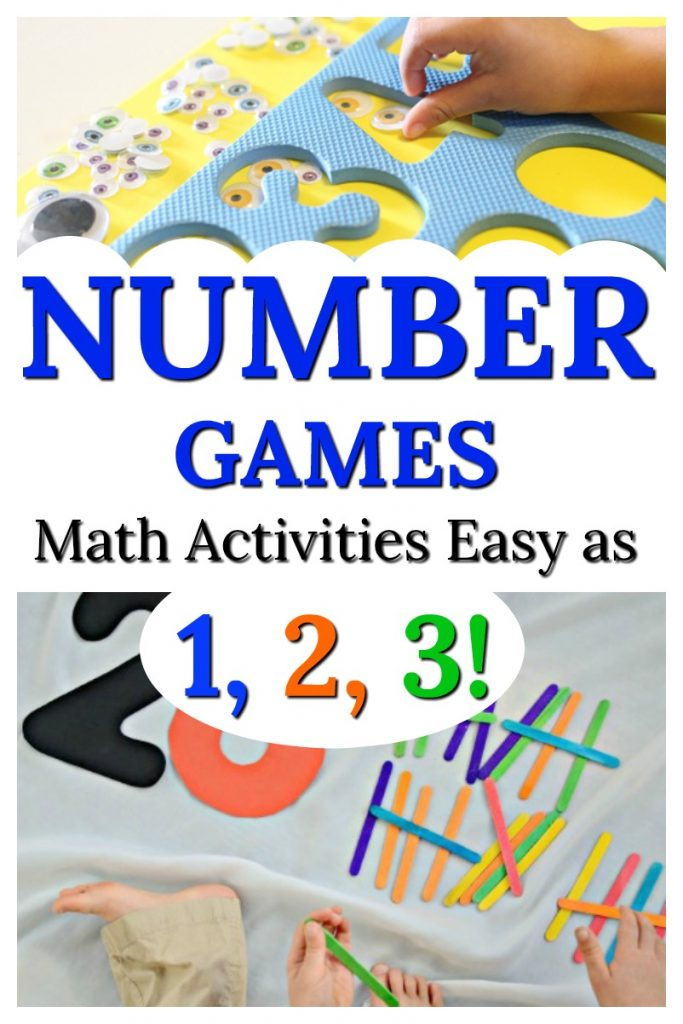 These number activities for preschoolers are so easy and fun games too! Great for kids practising counting and numbers #HowWeeLearndotcom #number #numberactivities #mathactivities #counting #teachingmath #learningactivities #preschooleractivities #homeschoolingtoddlers #toddleractivities