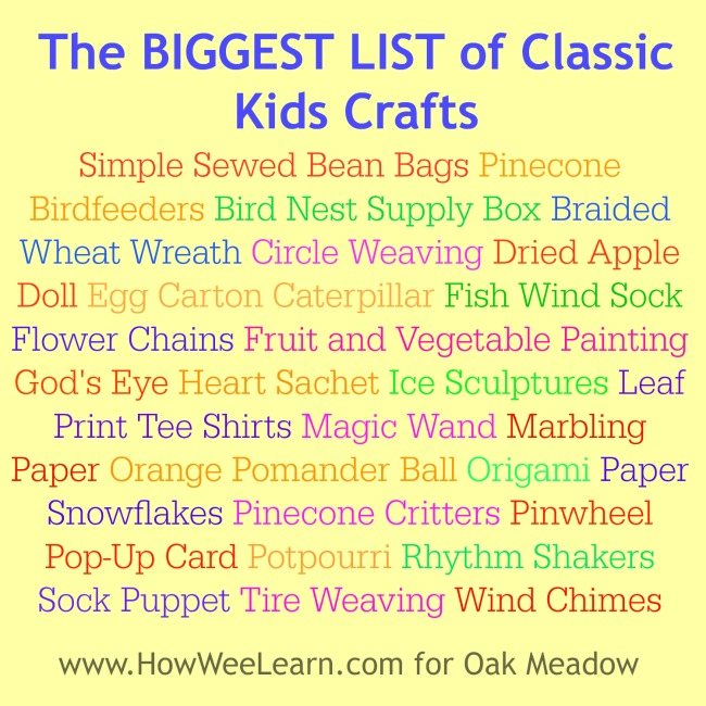 These are the CLASSIC crafts for kids. So many fabulous preschool crafts and activities!