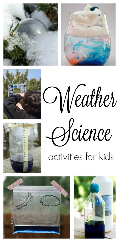Weather Activities for Preschoolers - How Wee Learn