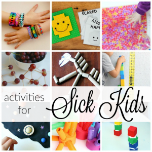 Activities for Kids at Home Sick