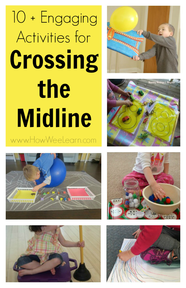 10+ Crossing the Midline Activities for Kids