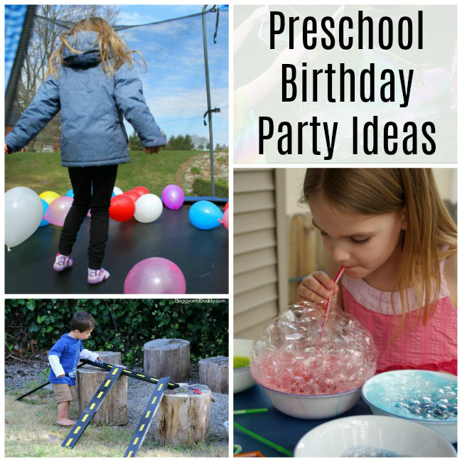 Activities for a Preschool Birthday Party