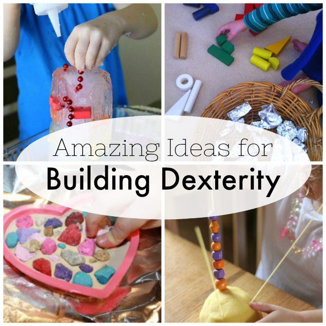 Fine Motor Activities that Build Dexterity