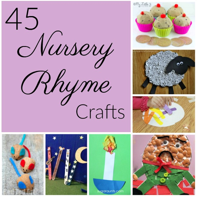 Adorable Nursery Rhyme Crafts Perfect For Pairing With Stories In Preschool And Kindergarten