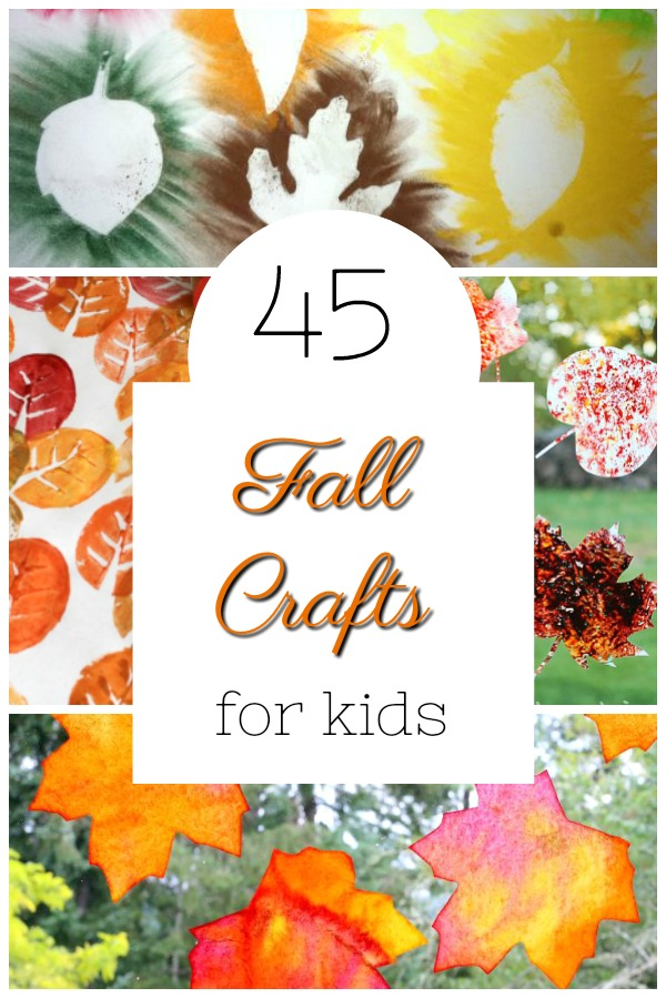 Adorable fall crafts for preschoolers! These art activities are playful and perfect for Autumn. #fall #craft #kidscraft #preschool