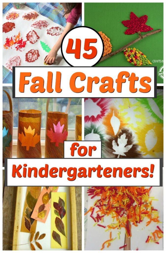 Fun and easy fall crafts for kindergarteners! These fall crafts are perfect for kids to enjoy this autumn. #howweelearn #fallcrafts #craftsforkids #kidscrafts