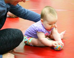 Crossing the Midline Activities for Babies and Young Toddlers