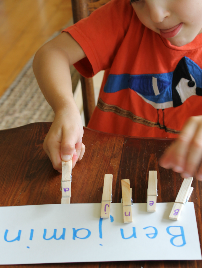 These name activities are perfect for preschoolers! Love how they are all set up in a quiet time format too - awesome for independent practice.