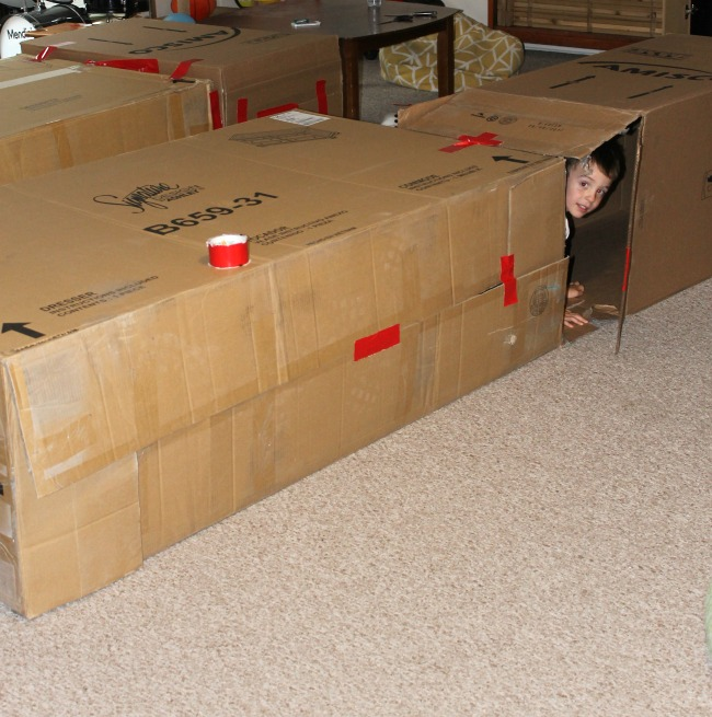 How to make amazing box forts with kids!
