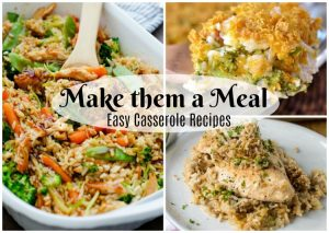 Easy casserole recipes perfect for gifting to a friend in need
