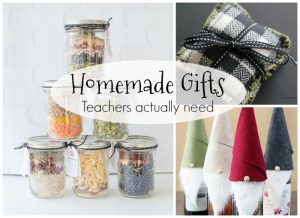 These are such useful and practical homemade gifts for teachers! Great for Christmas or any teacher appreciation gift #Homemadegift #Christmas #Teacher