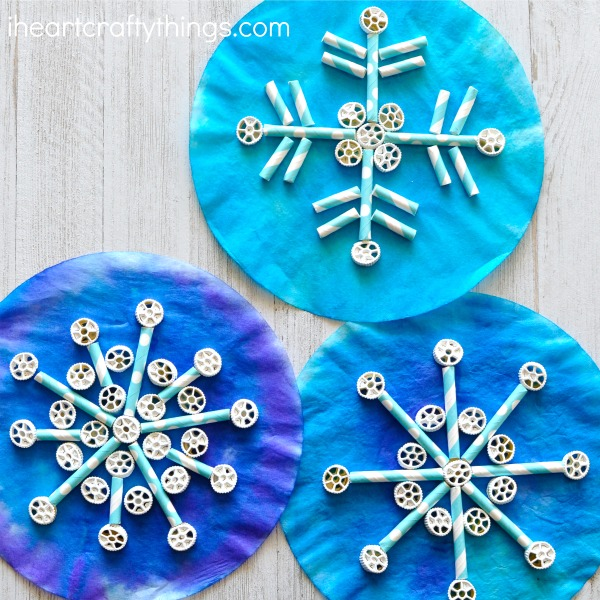 snowflake art for kids