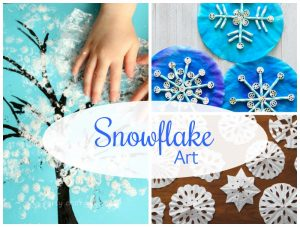 Oodles of ways to make Snowflakes with Kids