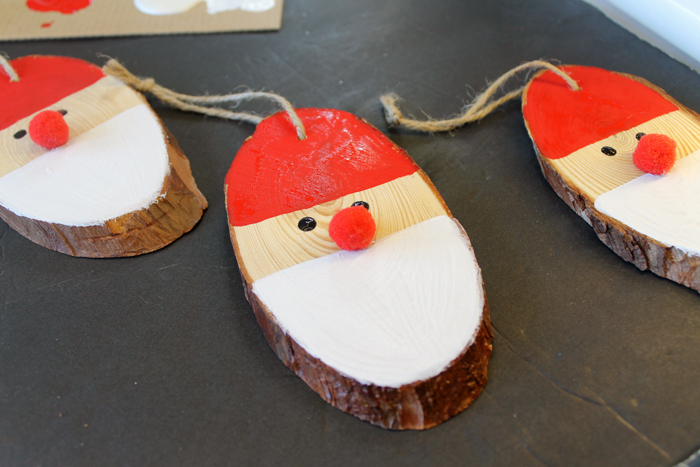 A great Santa themed Christmas ornament!
