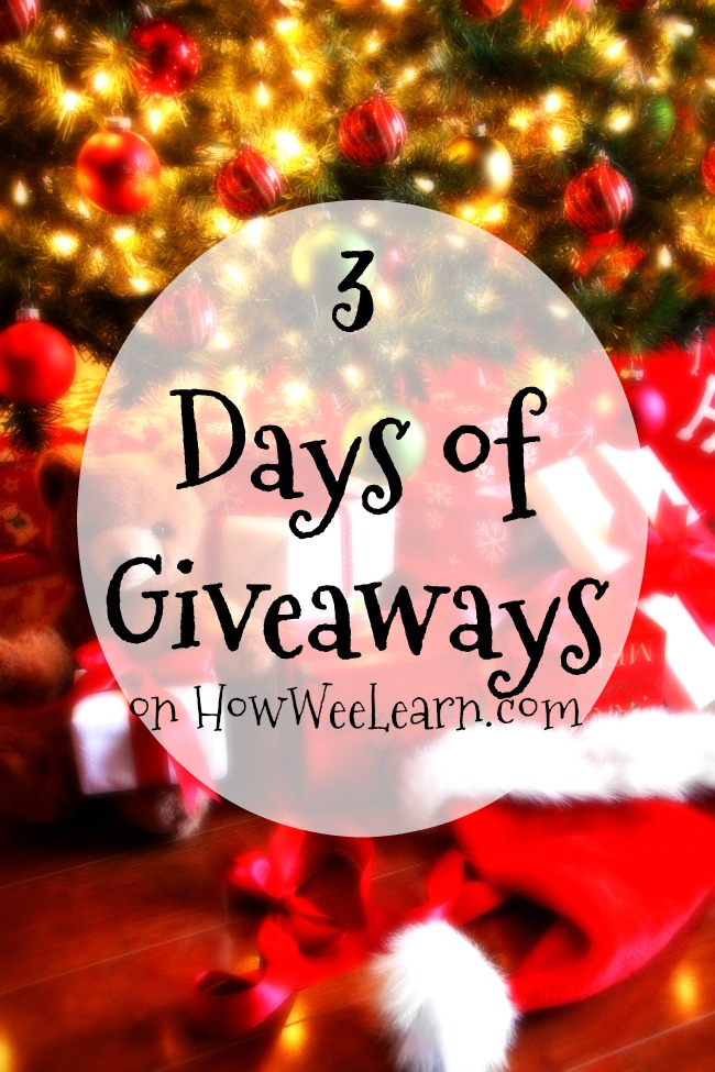 Join us in December as we #giveaway some of the hottest toys this year on How Wee Learn!