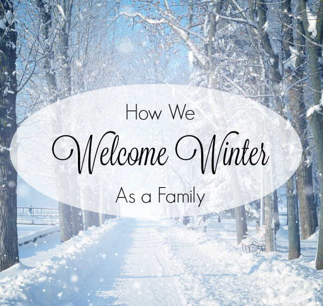 A beautiful way to welcome winter as a family! Such great traditions #sponsored #oakmeadow