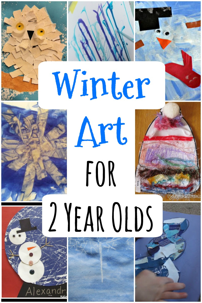 Winter Art For 2 Year Olds How Wee Learn