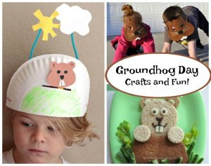 Groundhog Day crafts for preschoolers!