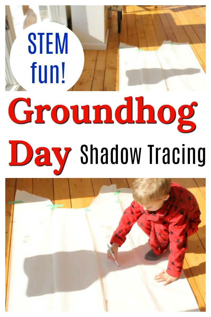 This STEM activity for preschoolers is perfect for Groundhog day! It's awesome science fun for kids. #groundhogday #groundhogdaycrafts #groundhogcraft #preschoolactivities #preschoolcrafts #preschool #stem #stemactivities