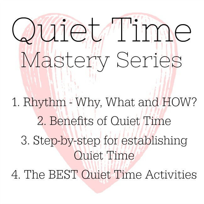 Everything you need to know about Quiet Time for kids! The step-by-step how to and the best quiet time activities for toddlers and preschoolers too. #toddlers #preschoolers #moms #quiettime #quiet #time