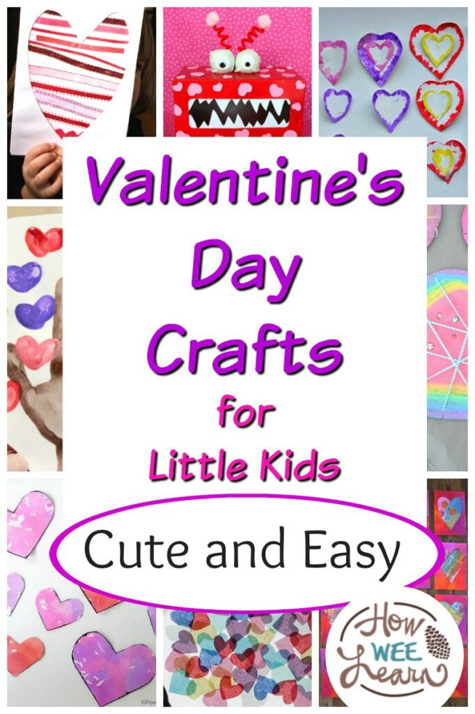 Beautiful And Playful Valentine S Day Crafts For Preschoolers How Wee Learn