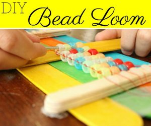 Super Easy DIY Bead Loom