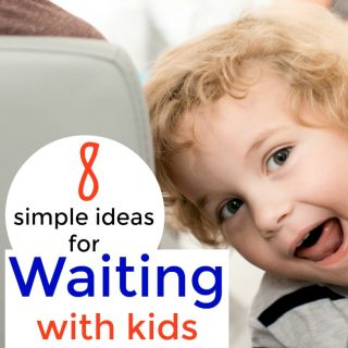 Great ideas for keeping kids busy when waiting in lines or at the doctors office. #Preschool #waiting #busy