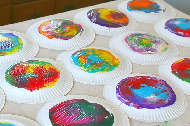 fun paper plate craft idea