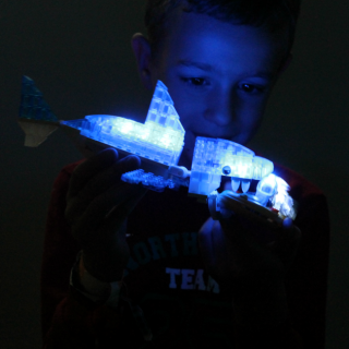 Laser Pegs are such cool toys and super educational too! #laserpegs #sponsored #stem