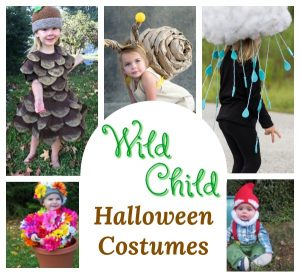 Homemade Halloween Costumes for the Wild Child