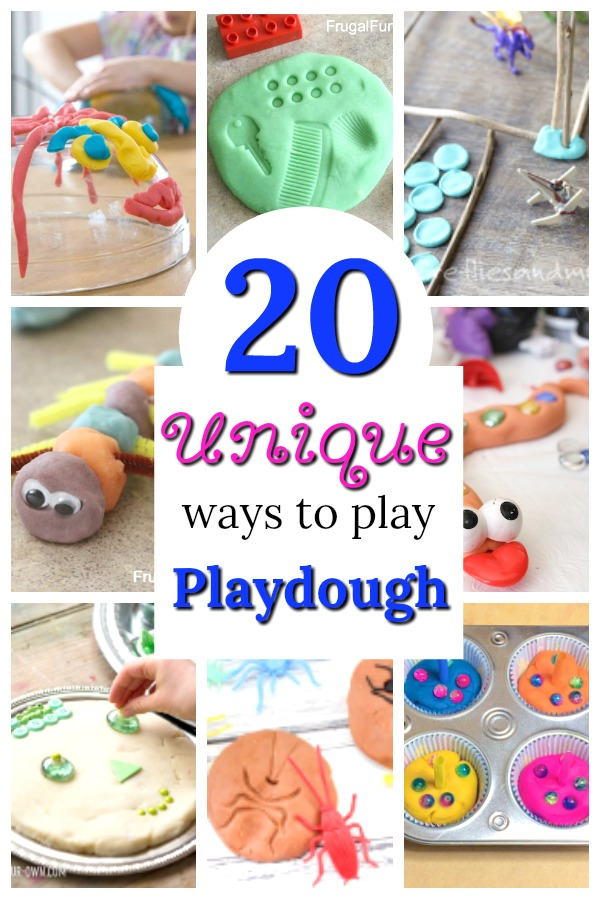 Awesome playdough activities for preschoolers! These playdough ideas are perfect for kids of all ages! #playdough #activities #kids #preschool