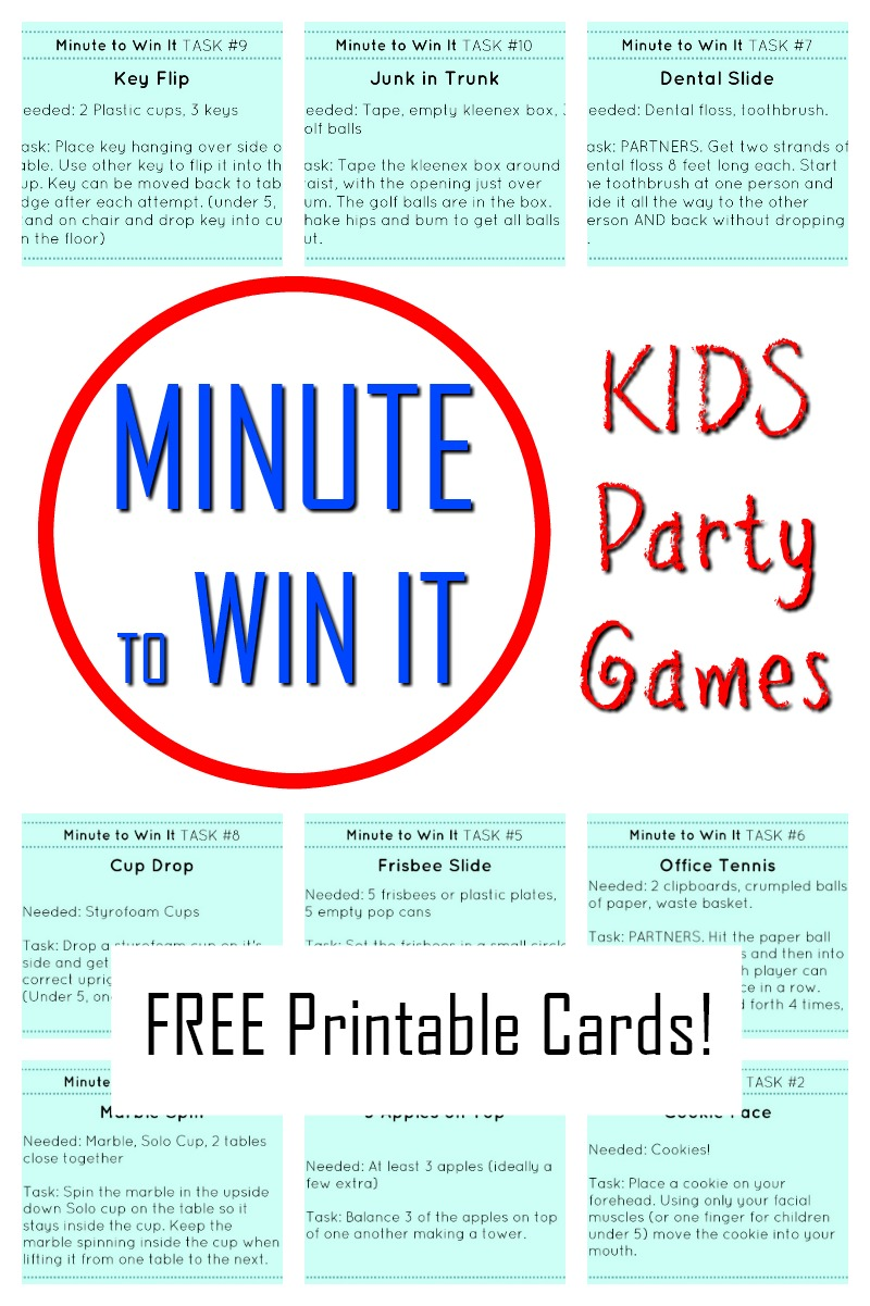 photograph relating to Printable Family Games referred to as Amazing Moment in the direction of Gain It Little ones Bash Online games! - How Wee Discover