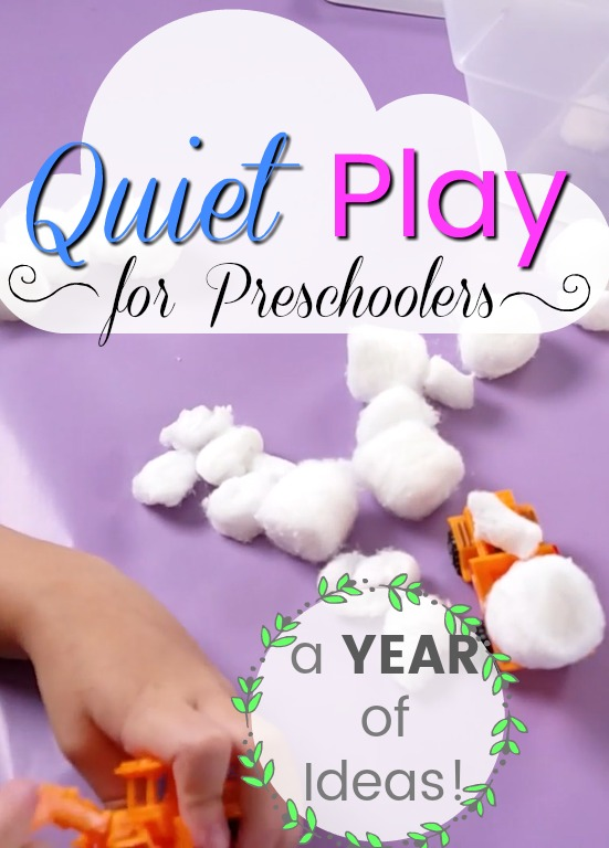 Quiet and independent play ideas for preschoolers! These quiet time activities are great for little kids who need some help calming down. #howweelearn #quiettime #busybags #preschoolathome #preschoolactivities #preschooler #preschooleractivities #artsandcraftsforkids #toddleractivities